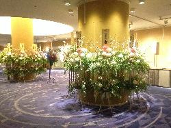 ホテルの花屋