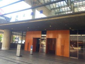 新国立劇場入り口