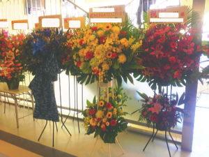 横浜O-SITEへスタンド花