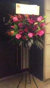 クラブ開店祝いのスタンド花