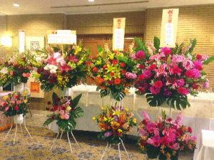 ホテルグランドヒル市ヶ谷へスタンド花