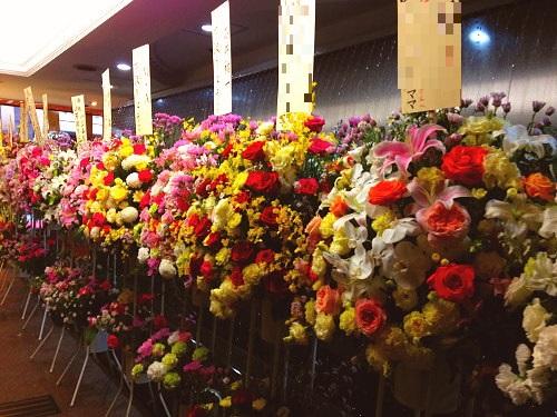 誕生日に届く花