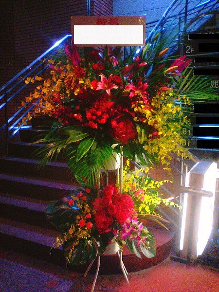 スナック開店祝いに人気の花