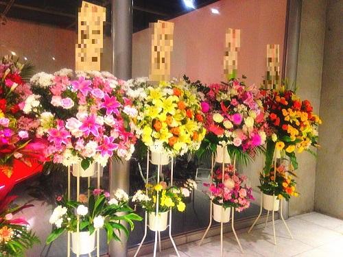 キャバクラへ贈る花
