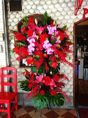 アルハムブラへスタンド花