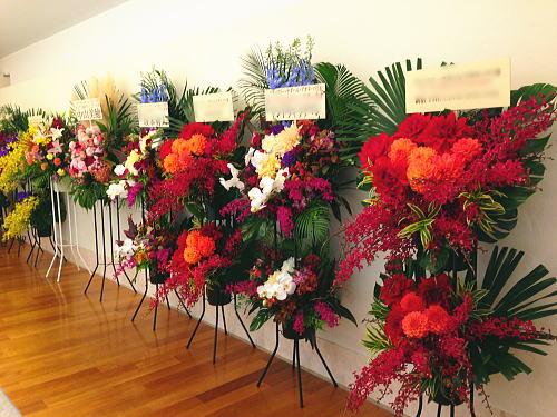 洋菓子店の開店祝い花