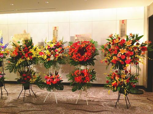 祝勝会へのお祝い花